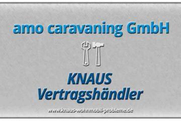 amo caravaning Knaus Vertragshändler