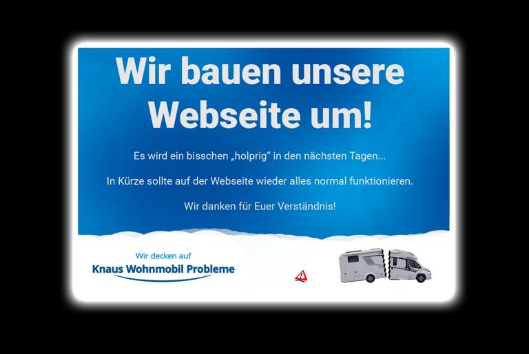 Wir bauen unsere Webseite um…